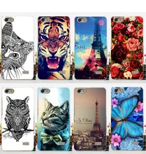 14 Carton Stylish Flowers Animals Towers Case For Huawei G Play Mini Stand Function g play mini New Popular mobile phone cover