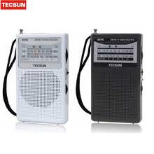 Tecsun R-218 Receiver R218 Radio FM AM Radio 2 Band Broadcasting Receiver 76-108 MHz Mini Portable Pocket design Drop Shipping(China)