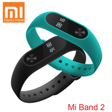 In Stock Original Xiaomi Mi Band 2 MiBand 2 Fit 2 Smart Heart Rate Fitness Wristband Bracelet OLED Display Clock For iOS Android