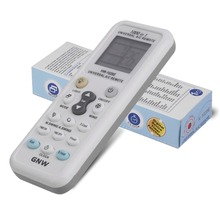 Universal GNW K-1028E Latest 1000 in 1 AC Remote Control for Air Conditioner Condition LCD Baclight A C Muli Remote Control