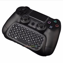 Mini Bluetooth Wireless Keyboard Chatpad Keypad For PS4 PlayStation Controller 0323