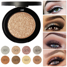 8 Colors Professional Nude Eye Shadow Glitter Shimmer Eyes Makeup Long-lasting Baked Eyeshadow Palette Cosmetics For Ladies