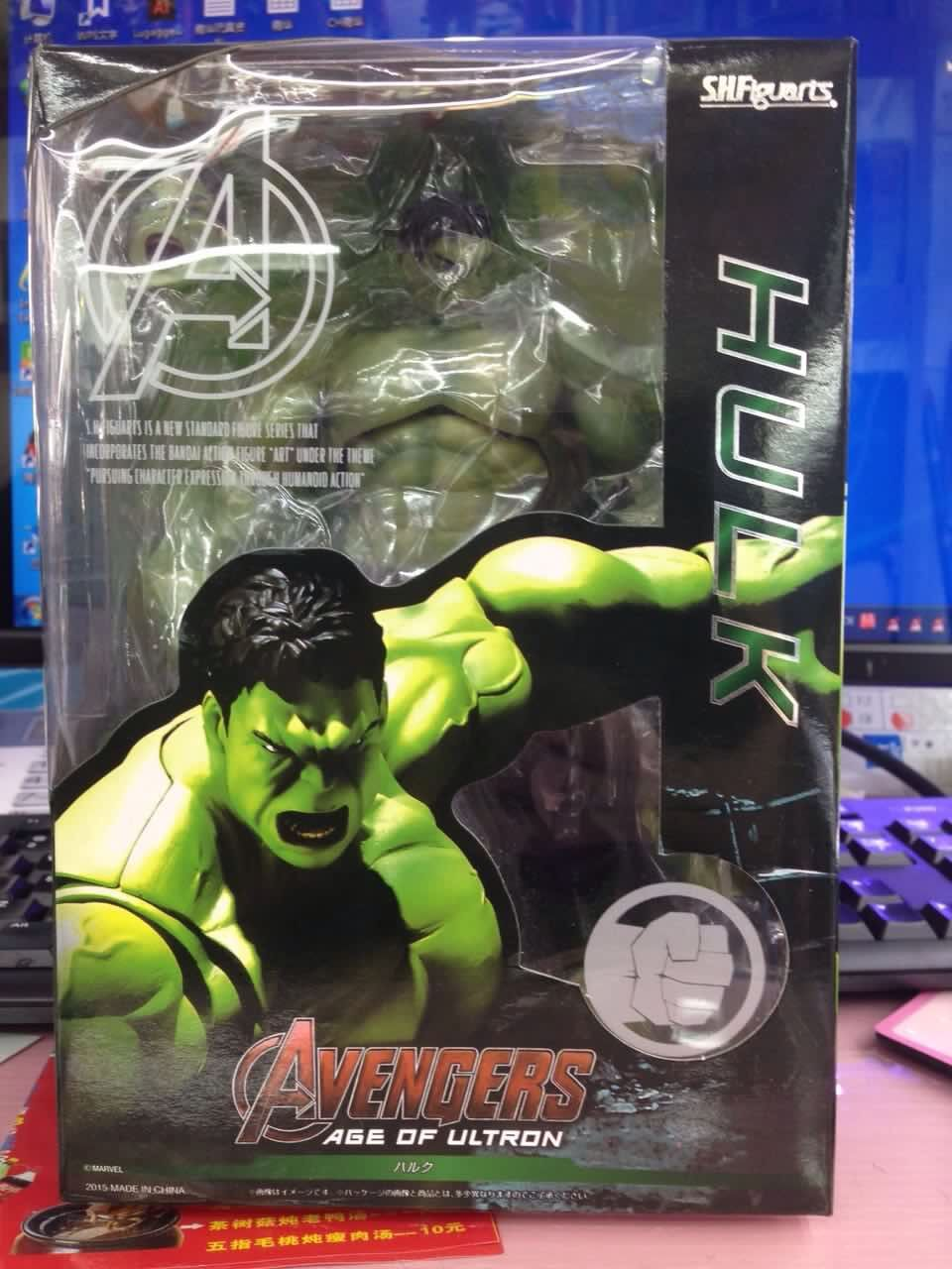 New PVC 18cm Big Marvel Avengers Hulk Action Figure Collectable Model Muscle Man Superman Crazy Toy Top Grade Gift DMX0036<br><br>Aliexpress