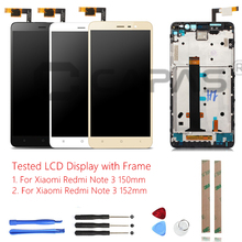 Tested For Xiaomi Redmi Note 3 Pro LCD Display + Frame Touch Screen Panel Redmi Note 3 LCD Display Digitizer Complete Parts(China)