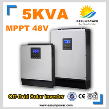 Solar Inverter 5kva 5000W Off Grid Inverter 48V to 220V 80A MPPT Hybrid Inverter Pure Sine Wave Inverter 60A Battery Charger