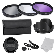Top Deals 82mm Filter Lens Kit For Canon Nikon Sony Fujifilm Pentax and Other Digital SLR Cameras with Filter Thread 82mm