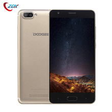 Original Doogee X20 5.0'' Mobile Phone MTK6580 Quad Core Android 7.0 2GB+16GB Cell Phone 2580mAh Dual Rear Cameras 3G Smartphone