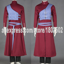 2016 New Naruto Gaara Cosplay Costume Anime disfraces(China)