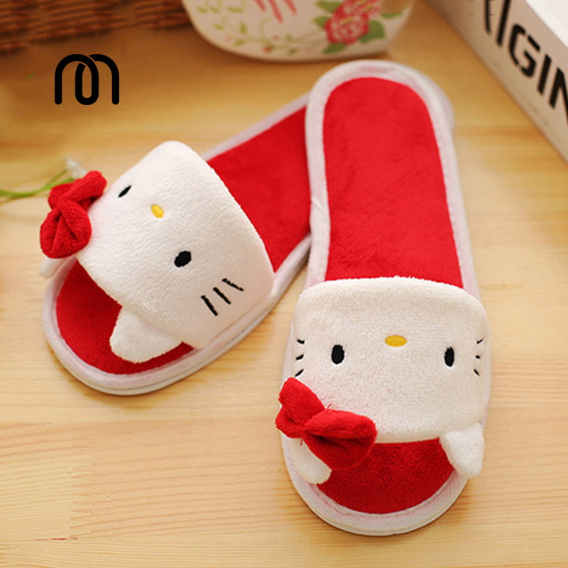 Millffy hello kitty slippers stitch panda animel plush slippers pikachu womens indoor slipper<br><br>Aliexpress