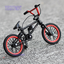 High quality Mini black/ red flick trix finger bikes bmx toys for children boys fun gift FSB Bicycle collector's pack(China)