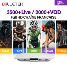 Buy SUBTV IPTV 1 Year Code Subscription 3500 Live Europe Arabic Channels Arabic French IPTV Box Dalletektv Smart Android 6.0 TV Box for $81.32 in AliExpress store