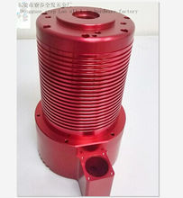 precious prototype, red anodized Cnc turning parts CNC lathe maching, Can small orders, Providing samples(China)