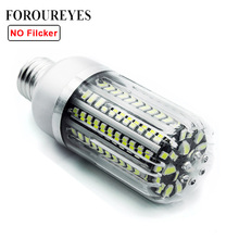 On Sale No Flicker LED Bulb SMD5736 More Bright 5730 LED Corn Lamp Bulb Light 5W 10W 15W 20W 25W E27 E14 85V-265V Free shipping(China)