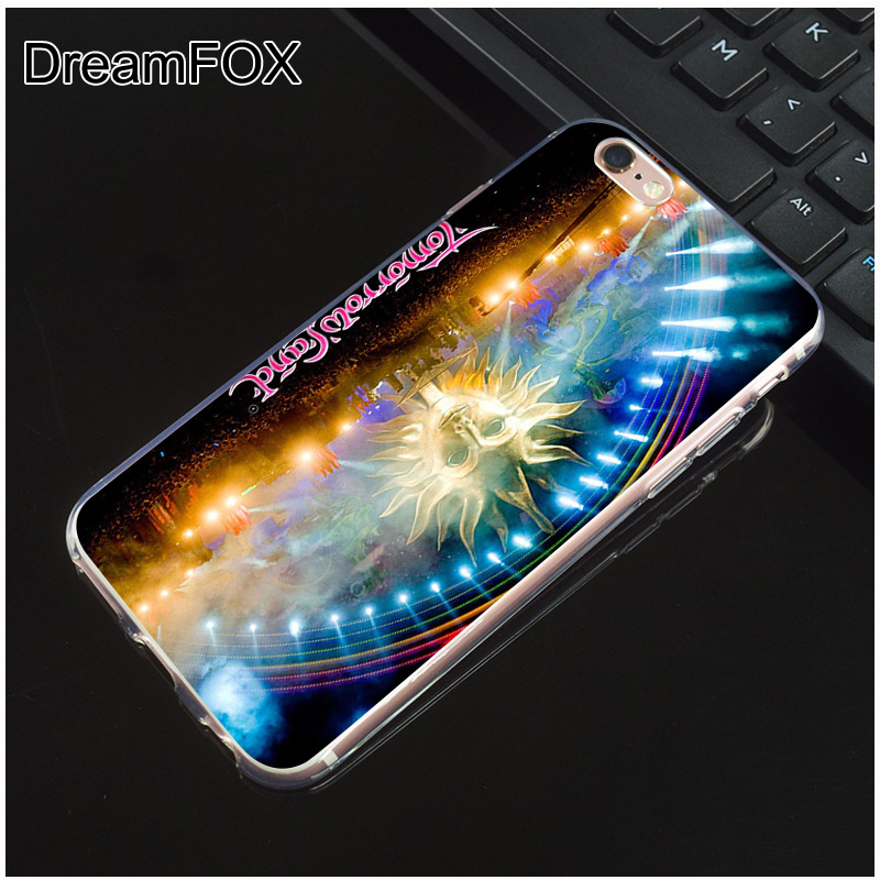 DREAMFOX L403 Tomorrowland Music Festival Soft TPU Silicone Case Cover For Apple iPhone 8 X 7 6 6S Plus 5 5S SE 5C 4 4S