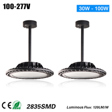 Ce EMC SAA RoHS GS UL Listed Commercial 100W Commercial LED Pendant Lights