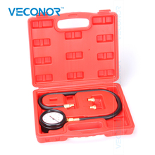 VECONOR TU-12 Engine Oil Pressure Tester Pressure Gauge Test Tool Kit Auto Car Pressure Tester Automotive Diagnostic Tool(China)