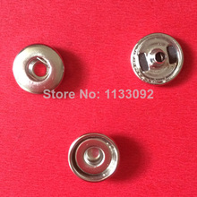 Free ePacket 100sets (1 set= cap+socket+stud) Diy 12mm Size Snap Button Charm Base Findings Part Snap-It For Making Snap Button