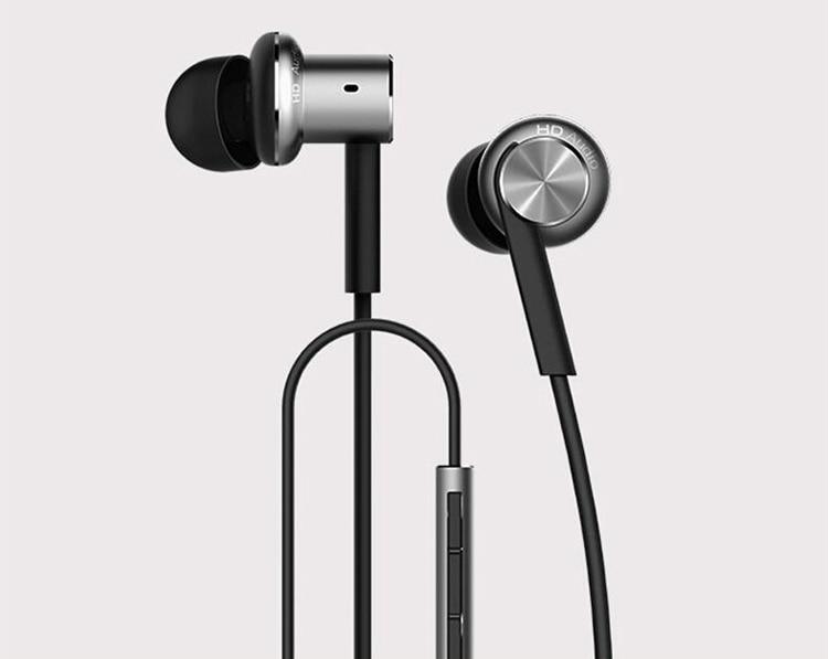 Original Hybrid Piston Dual Driver Earphone Stereo In-Ear Circle Iron Dynamic Balanced-Armature Mic  Xiao Mi Android<br><br>Aliexpress