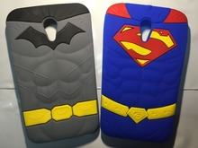 3D Cartoon Muscle Superman Soft Silicone Cover For moto G2 phone case For Motorola Moto G2 G+1 XT1063 XT1068 XT1069