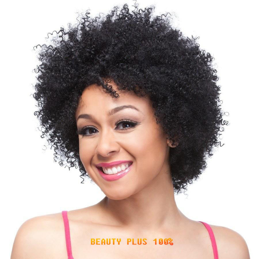 Short black curly wig Afro African American Wigs for Black Women Synthetic Hair wigs Cosplay or party wig Free shipping<br><br>Aliexpress