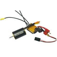 ABWE Best Sale 2838 Sensorless Motor + 35A Brushless ESC for 1/14 1/12 remote control car(China)