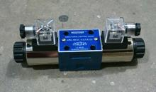 rexroth type 4WE10G 3/8'' hydraulic directional valves with wet pin DC or AC solenoids, 4 actuator ports Nominal size 10 3X