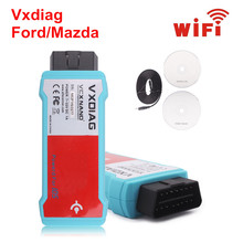 With WIFI Version Multi-Language VXDIAG VCX NANO for Ford V98 Mazda v100 2 in 1 with IDS  Support vehicle till 2015 year