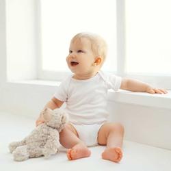 HelloBaby Baby/Модный пуловер с короткими рукавами и круглым вырезом для маленьких девочек и маленьких мальчиков