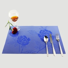 Wholesale Home Kitchen Decoration Accessories Flower Printed Dining Table Placemats Bowl Pads Coasters 30*45 CM
