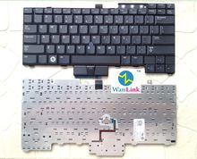 For use on DELL Latitude E6400 E6500 E6410 E6510 M2400 M4400 laptop keyboard US version NO backlit without backlight