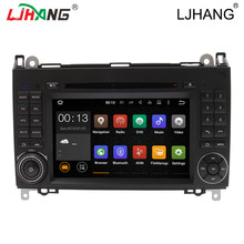 Advanced Android 5.1 Quad Core 1024*600 Car DVD Player for benz B200 W169 W245 A160 Viano Vito v-class BT GPS stearing wheel ODB