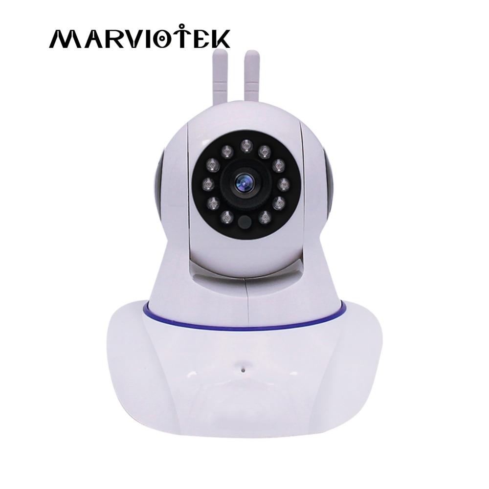 720P wireless IP Camera wifi 960P video surveillance camera 2 antennas Pan Tilt wi-fi cctv camera 1080P baby monitor audio<br>