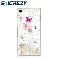 Buy new arrival bling diamond rhinestone protective shell mobile phone case cover sony Xperia Z3 D6653 L55T/E3/T3/T2/Z1 Mini/E1 for $4.23 in AliExpress store