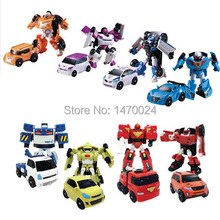 8 styles Young Toys Korea Cartoon Deformation Robot Tobot Brothers Anime Tobot Quartran Toys,Kids Toys Deformation Car Juguetes