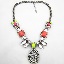 Fashion Brand Chunky Pendants Necklaces Wholesale Designer Women Necklaces & Pendants Jewelry Name Statement Necklace For Women