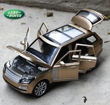 Double Horses 1:24 Free Shipping RANGE ROVER Alloy Diecast Car Model Pull Back Toy Car Electronic Car Kids Toys Gift