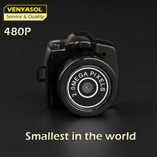 VENYASOL 480P The Smallest Tiny Mini spied Camera Video Recorder micro Camcorder DV DVR Portable Secert Security Cam