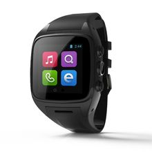 "Exclusive new 1.54"" WiFi+GPS+SIM+3G+GSM+Google Play Store /Pedometer+Heart Rate Monitor Options Android Smart Watch Smart Phone(China)"