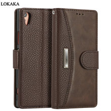 Buy LOKAKA Sony Xperia XA1 Case Picks PU Leather Wallet Flip Cover 5.0 inch Phone Bags Cases Sony Xperia XA1 E5823 for $8.57 in AliExpress store