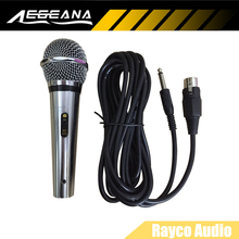 Unidirectional Dynamic Wired Microphone With 5m Cable Designed For All Singing Machine karaoke Systems Bright Clear Sound No box(China)