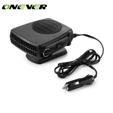 Onever 2 in 1 150W Car Heater Demister Defroster / Fan with Folding Handle Vehicle Auto Heating Cooling Demister 12V(China)