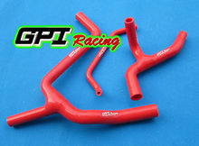 High performance silicone radiator  Y hose kit FOR Kawasaki KX450F KXF450 2009 2010 2011 2012 09 10 11 12 WHITE