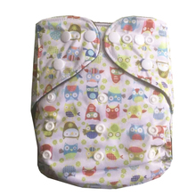 BAMBOO CHARCOAL Washable Cloth Nappy Baby Diapers Washable Baby Pocket Nappy Cloth Reusable Diaper 7color can be choosen(China)