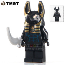 TMGT Single Sale KL044  Pharoah's Medieval Egyptian Super Heroes Building Blocks Bricks Kids DIY Toys Hobbies KL9006