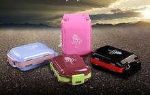 freeshipping 2pcs/lot Portable pill case / medicine box, for drugs and other personal care product ( MCPP resin material )