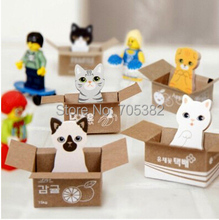 1pc/lot  Cute animal design sticky note Memo pad Memo sticker Lovely stationery wholesale (tt-1219)