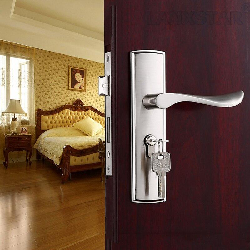 Direct Offer Zinc Alloy Handle Lock Indoor Silent Mechanical Lockset Retro European Trend Room Mute Locks<br><br>Aliexpress
