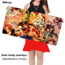 Mairuige 700*300mm One Piece Gaming Mouse Pad Large Cartoon Anime Rubber for CSGO DOTA2 Gamer Mouse Pad Keyboard Mat Table Mat(China)