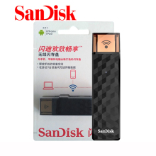 100% Original SanDisk USB Flash Drive Wireless Stick USB Pen Drive Wi-Fi + USB 2.0 16GB 32GB 64GB 128GB Memory Stick