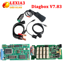 Newest v7.83 Lexia3V48 PP2000 V25 Diagnostic Tool For Citroen For Peugeot PP2000 Lexia3 Newest V7.83 DHL free shipping
